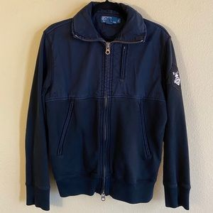 Dark Navy Polo by Ralph Lauren Zipper Jacket